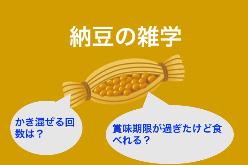 納豆の雑学